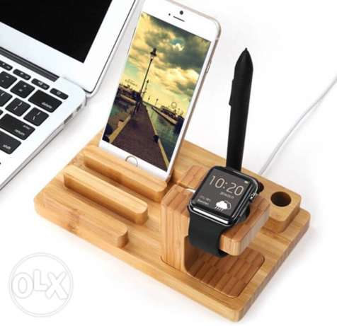 orignal bamboo dock charger