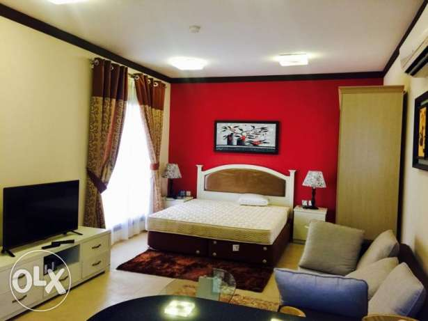 GHASFZ - Fully Furnished Studio Apartment with Balcony All Inclusive