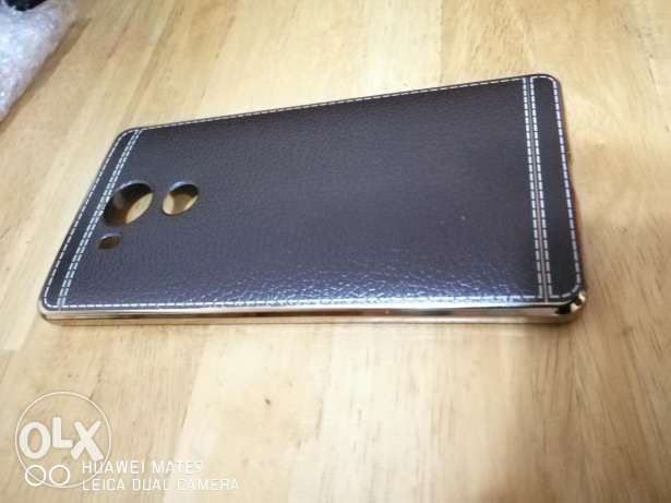 Huawei Mate 8 Brown & Gold Back Cover المطار القديم -  2