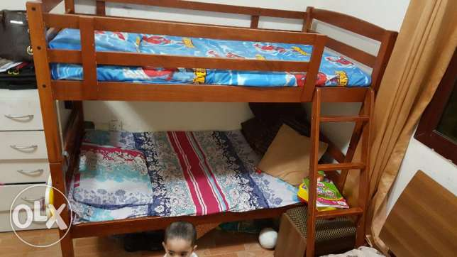 Double bed for kids (15year old kid can sleep ) urgent