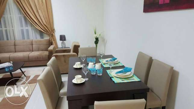 ONE MONTH FREE+Brand new 1-bedroom furnished for rent in Doha Jadeed
