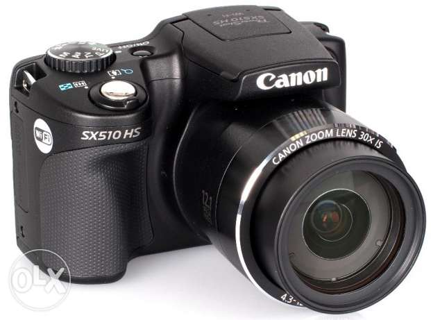Canon SX 510 Black Digital Compact Camera