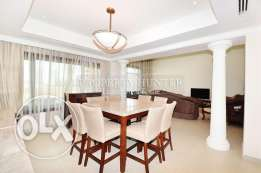 Fully Furnished 4+Maid Chalet with Marina View