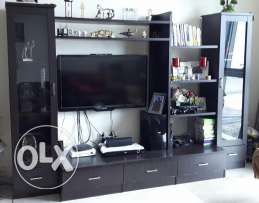 TV and book shelve