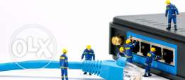 Structured Cabling Solution UTP & Fiber Optic - Ooredoo Certified