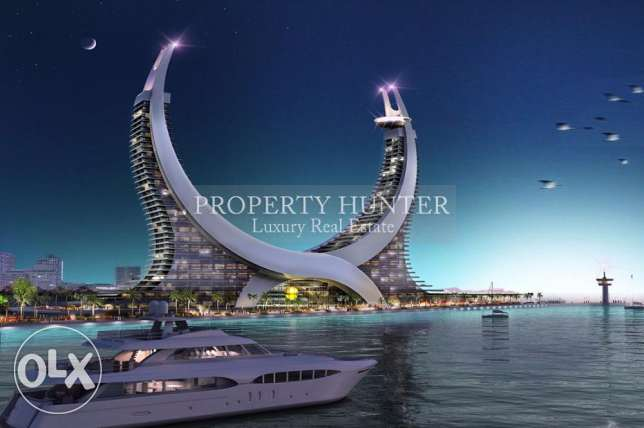 In One of Lusail's most iconic projects