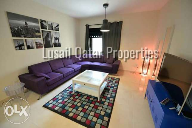 gorgeous price for Lovely spacious 1 bedroom apartment in Lusail