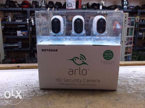 Netgear Arlo Smart Home Indoor/outdoor 3 Wireless Hd Security Camera