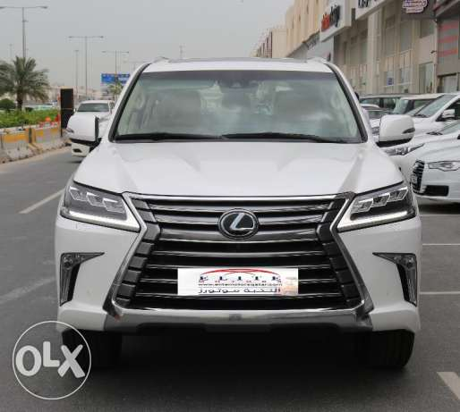 Lexus - LX 570 - white Mode 2016