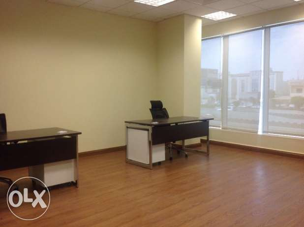 Fully furnished office space for rent at Doha السد -  1