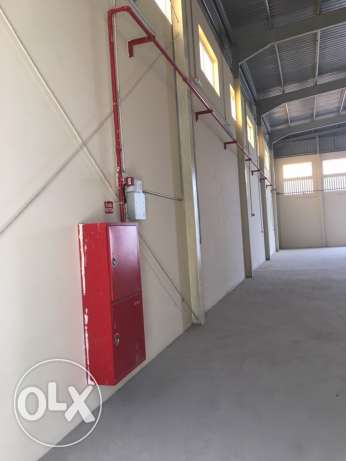 Brand new store in industrial area