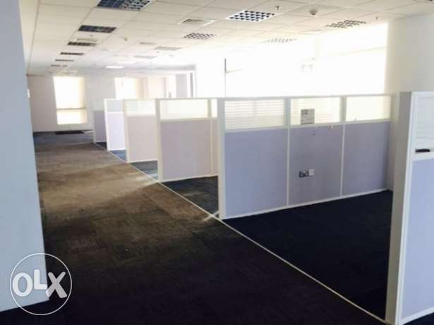 Fully-Furnished, Office Available in West bay الخليج الغربي -  3