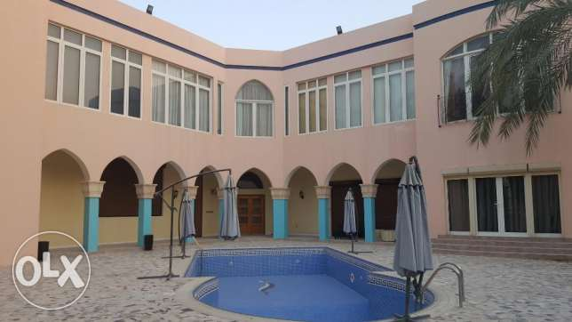 Gorgeous villa for rent in Westbay Semi Furnished
