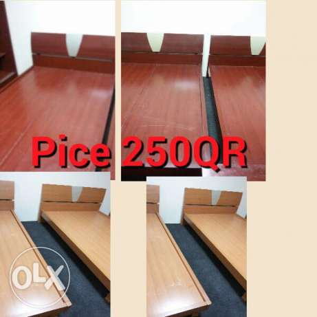 selling Single Bed 1 pic 250 الريان -  1