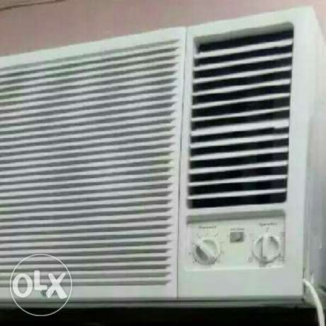 Window LG good working A.c for sale 1.5 and 2 ton . with delivery and