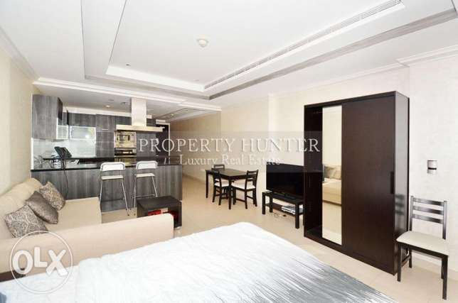 Studio Apartment in Luxury Development الؤلؤة -قطر -  1