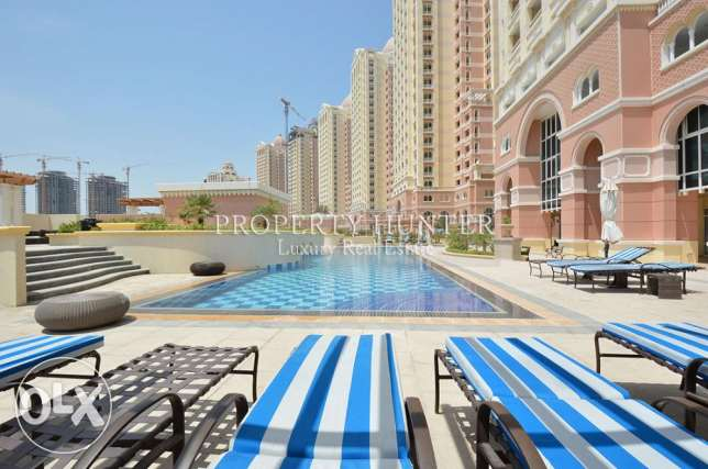 Studio furnished apartment with sea views