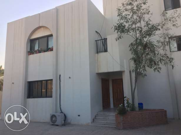 two bed room villa portions for rent in Mathar qadeem