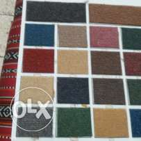 Sale carpet, make mojlish, cloth, plastric