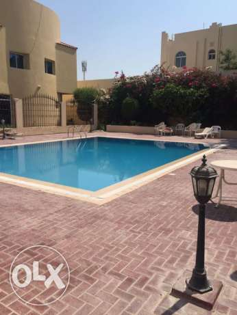 Unfurnished 3-BR in Old Airport-Gym-Pool+Maidsroom in Compound المطار القديم -  1