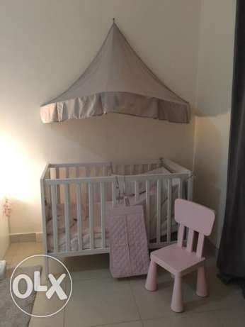 Baby Cot with matress brand new! Opportunity