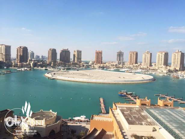 Full Marina View, 3BR Apartment For Sale at Porto Arabia الؤلؤة -قطر -  6