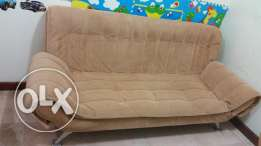 Home Center Sofa Bed 400 (original price 1500 rials)