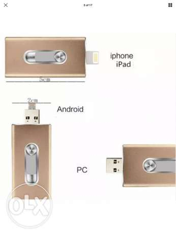 brand new all in one USB for iOS /android/pc.amazing offer (32/64gb)