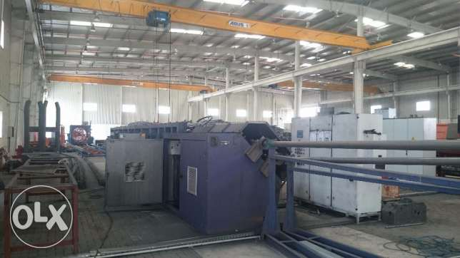 Used Industrial Machinery: Straightening & Cutting Machine