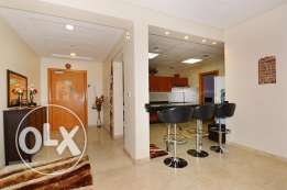Fully furnished 2 bed+maids room spacious apartment with prime layout