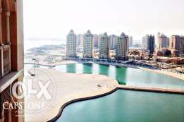 1 MONTH FREE: 1BR Apt. in Viva Bahriya, The Pearl Qatar