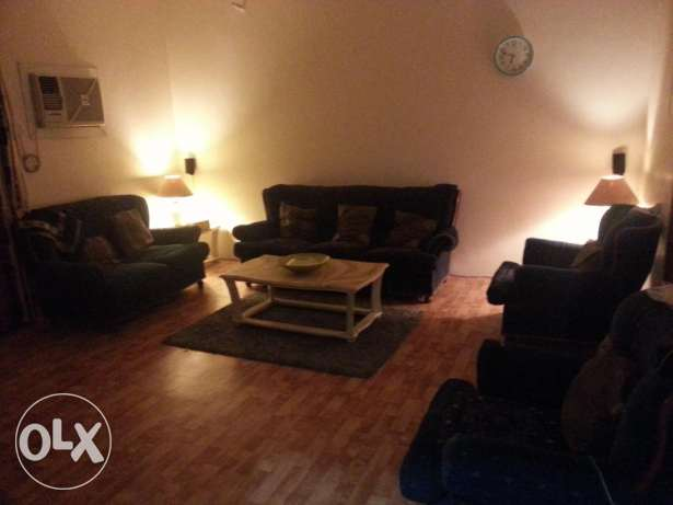 Spacious Furnished 1BHK + Big balcony IN MANSOURA EXCELLENT LOCATION