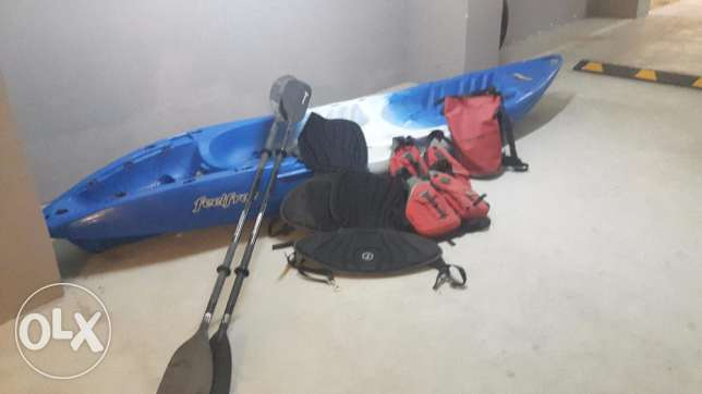 KAYAK - 2 man - QR3000 onco Incl Accessories & Delivery