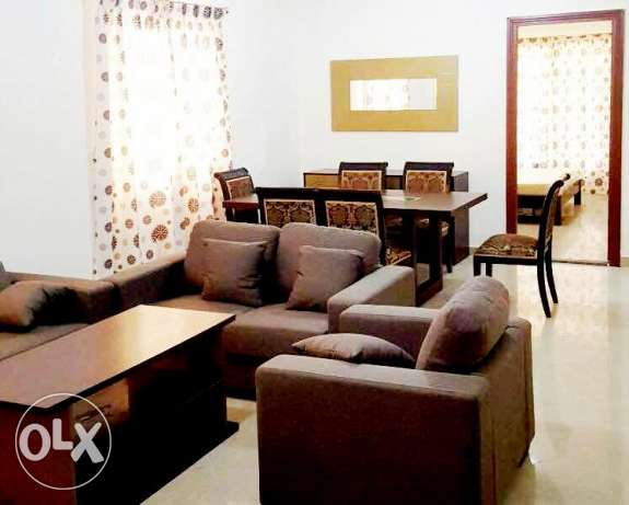 2 bedroom fully furnished compound apartment in wakrah