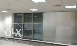 furnished or unfurnished small and large office spaces business center