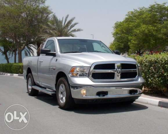 brand new 2016 ram 1500 slt single cab 4x4 gcc Silver