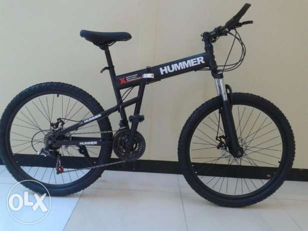 BRAND NEW HUMMER folding 21 speed excellent bike