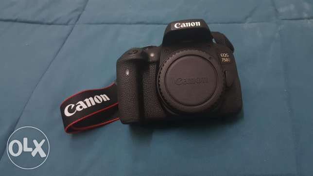 Canon 750D Body only (24.2mp DSLR, Touchscreen, Wifi)