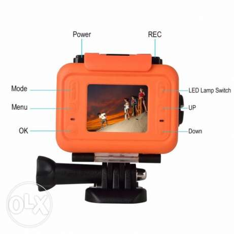 Wifi Waterproof Sports Camera SOOCOO S70 2K. 170 Degree Lens with 2.4G
