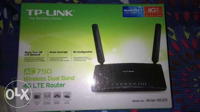 5004G Router Model TP link AC 750