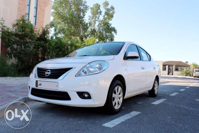 Nissan Sunny 2013 For Urgent Sale !