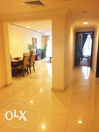 Fully/Furnished 3-Bedroom Flat At -{Mushaireb}-