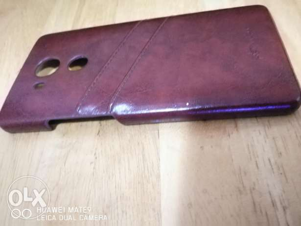 Huawei Mate 8 Genuine leather Back Cover المطار القديم -  2