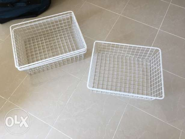 IKEA - STORAGE Basket and under bed box
