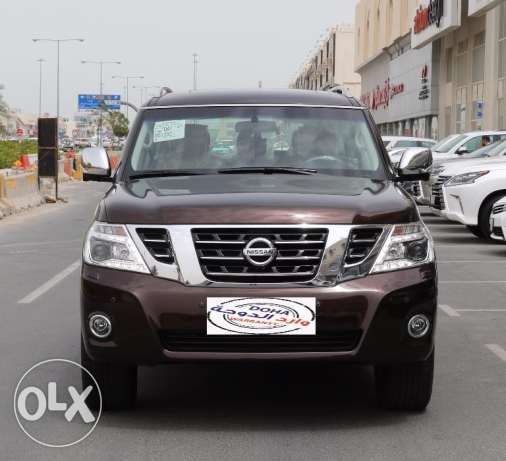 Nissan - Patrol Platinum Model 2017
