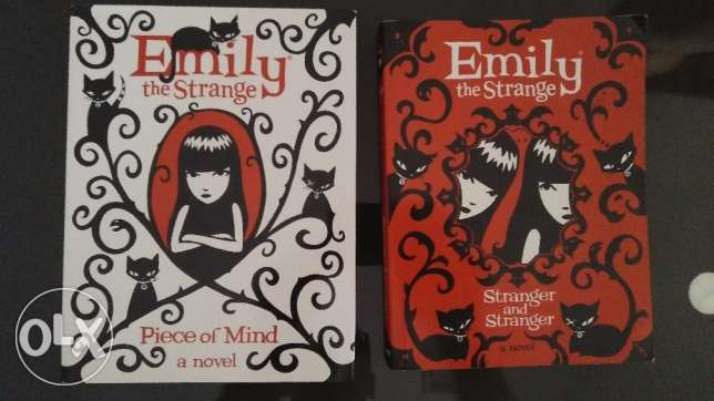 Two Emily the Strange novels in Good condition