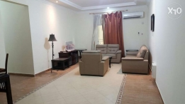 R-2bedrooms fully furnished apartment in al sadd