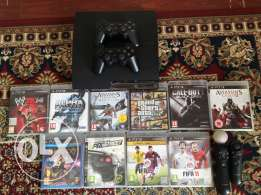 PS3 for sale in a very good condition
