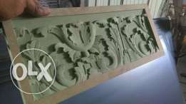 cnc router carving 2d 3d works