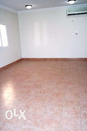 include w & e..semi furnished spacious hall with 2 bedroom apartment..